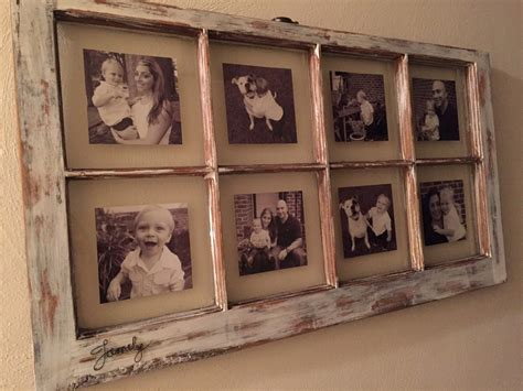 Diy Rustic Window Picture Frame