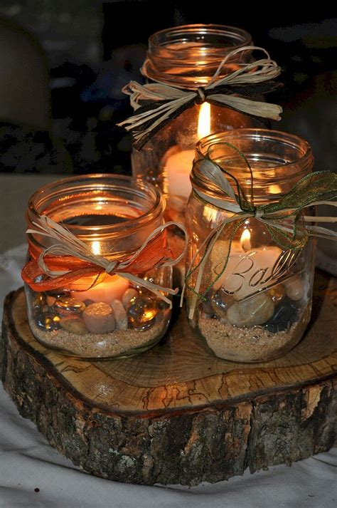 Diy Rustic Wood Centerpieces For Weddings