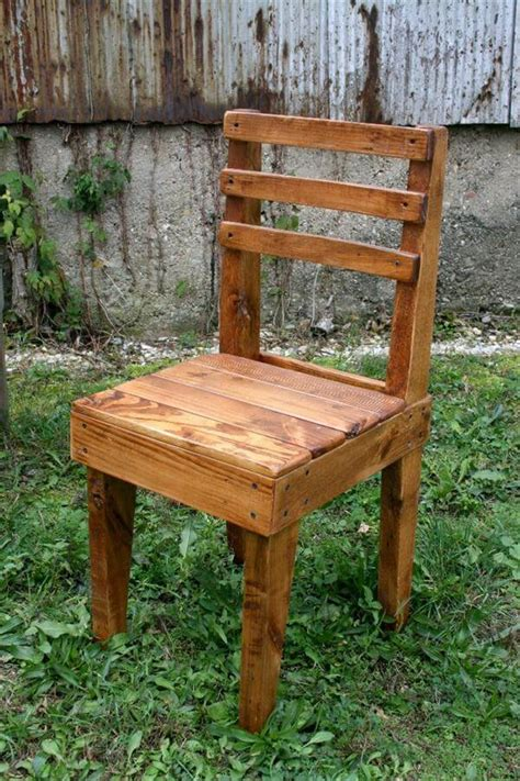 Diy Rustic Wood Chairs