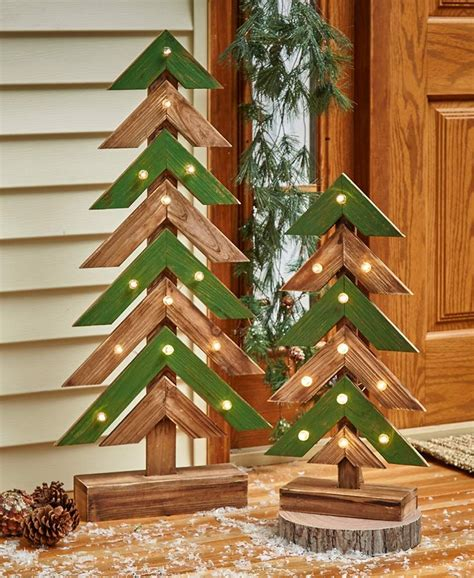 Diy Rustic Wood Christmas Tree