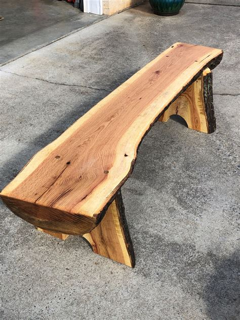 Diy Rustic Wood Garden Bench
