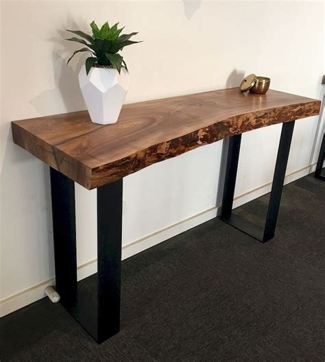 Diy Rustic Wood Hallway Table