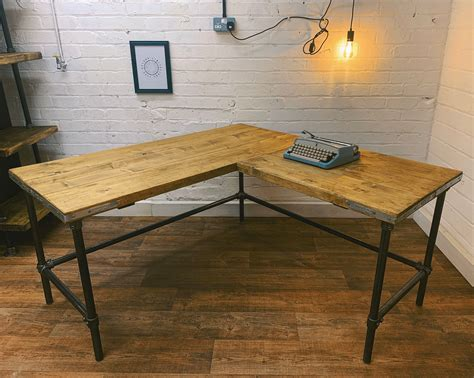 Diy Rustic Wood Metal Pipe Desk Plans