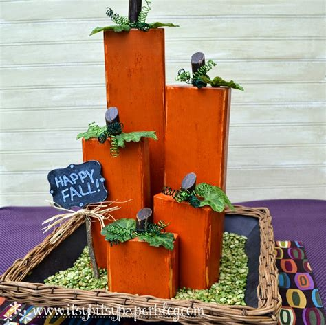 Diy Rustic Wood Pumpkins Kirklands