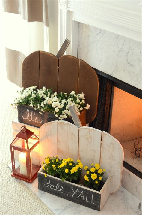 Diy Rustic Wood Pumpkins On Pinterest