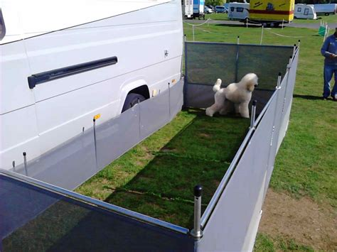 Diy Rv Dog Fence