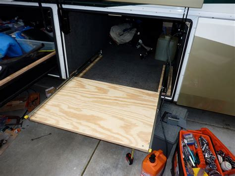 Diy Rv Storage Slide