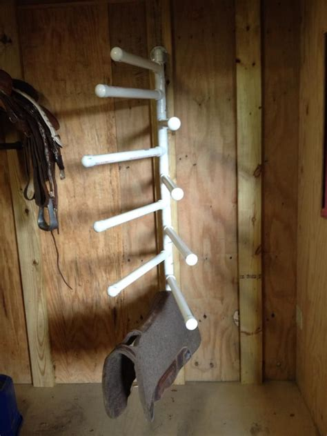 Diy Saddle Pad Rack Trailer