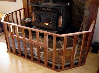 Diy Safety Gate For Wood Stove