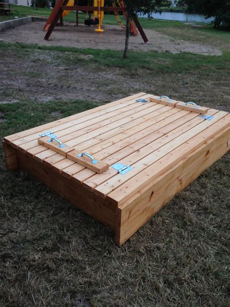 Diy Sand Box With Drawer