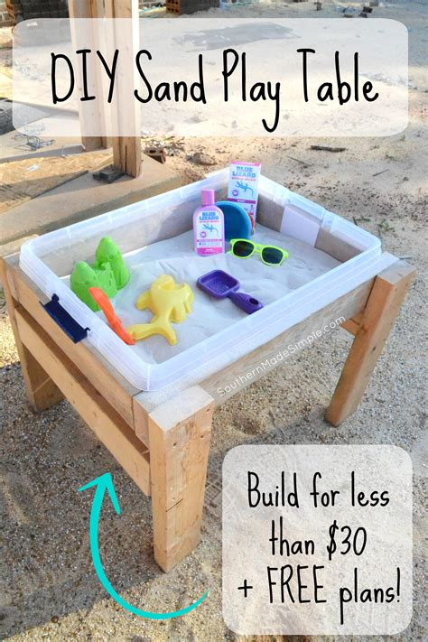 Diy Sand Table Ideas