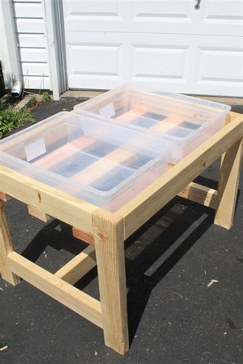 Diy Sand Table With Lid