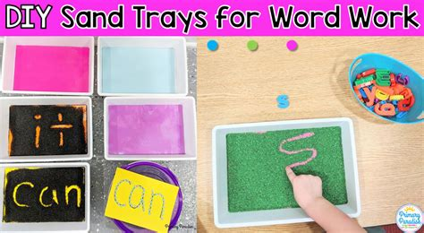 Diy Sand Writing Tray