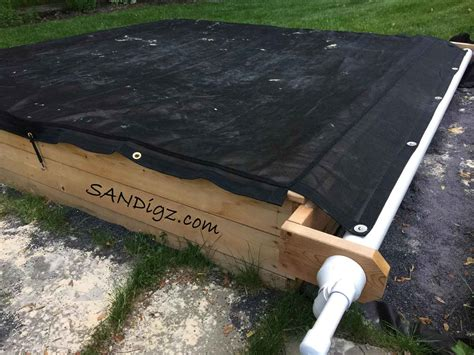 Diy Sandbox Cover Tarp