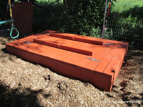 Diy Sandbox With Lid Plans