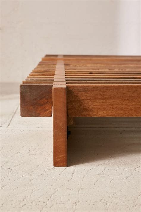 Diy Sarah Slatted Platform Bed