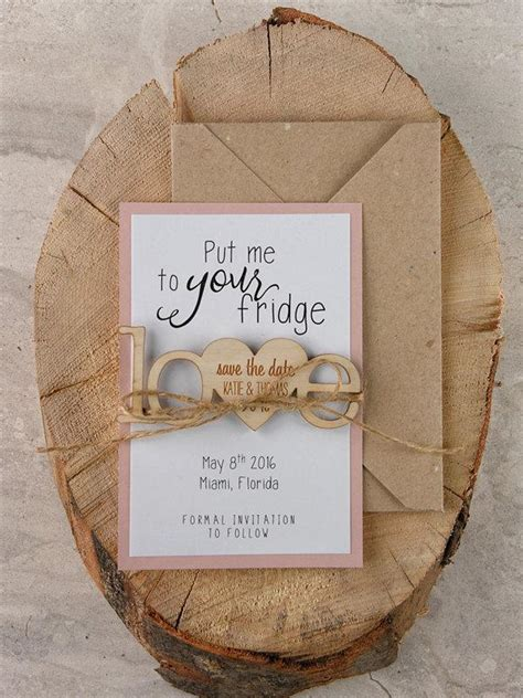 Diy Save The Date Wood Magnets
