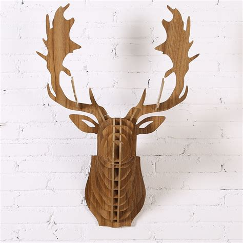 Diy Scandinavian Wood Deer Designs