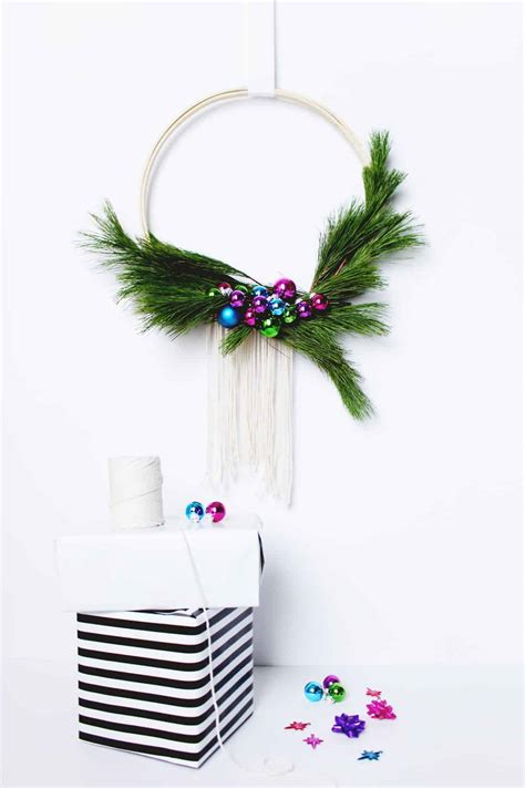 Diy Scandinavian Wreath