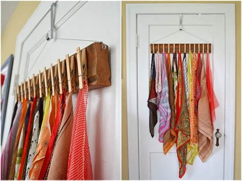 Diy Scarf Storage Solutions