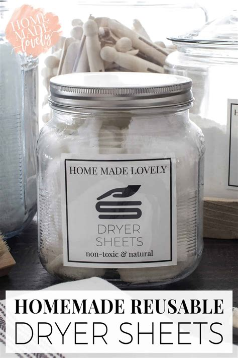 Diy Scented Dryer Sheets