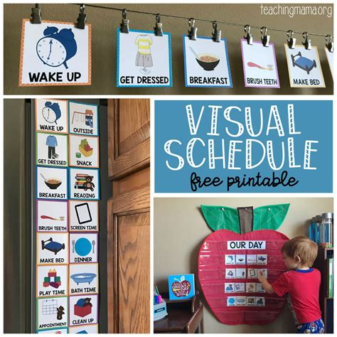 Diy Schedule For Special Need Toddlers