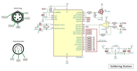 Diy Schematic Diagram Circuit Solder Station