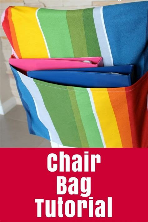Diy School Chair Bag