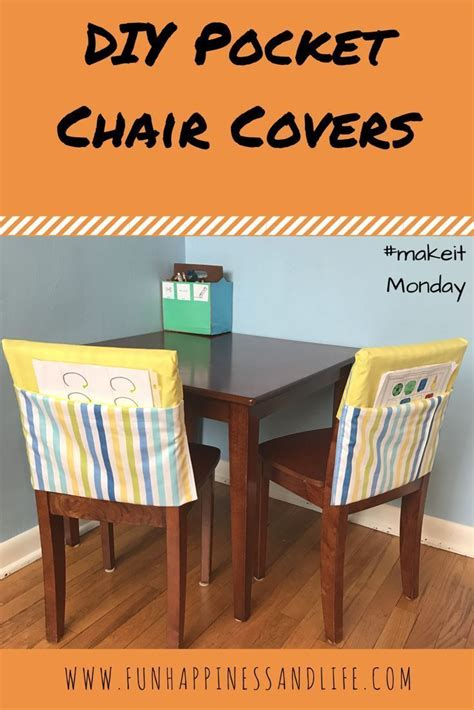 Diy School Chair Covers
