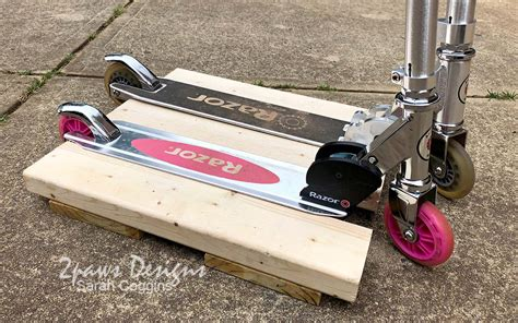 Diy Scooter Center Stand