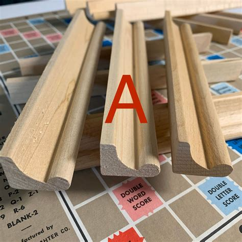 Diy Scrabble Racks