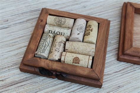 Diy Scrap Wood Coasters With Cork