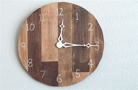 Diy Scrap Wood Desktop Clock