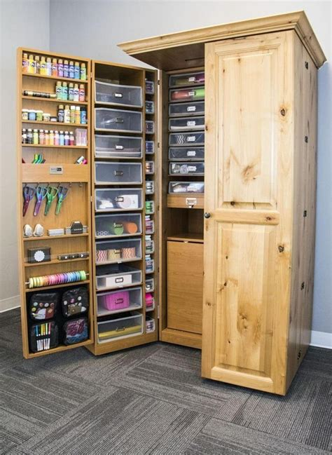 Diy Scrapbook Storage Cabinet