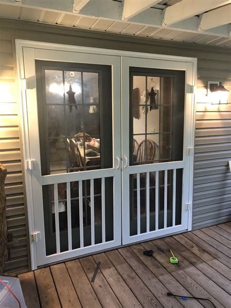 Diy Screen Door For French Doors