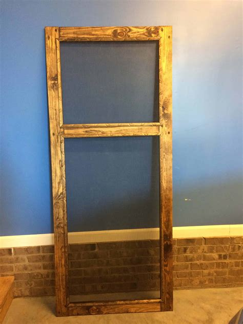 Diy Screen Door Picture Frame