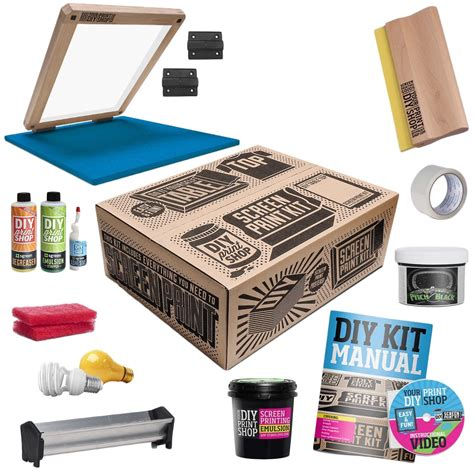 Diy Screen Printing Kit