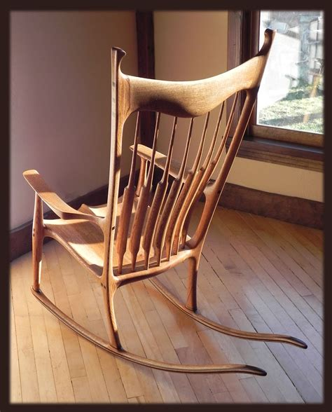 Diy Sculpted Maloof Chair Plans