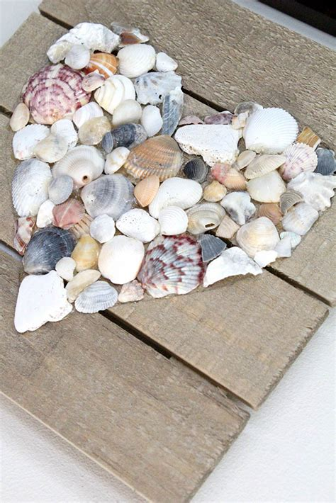 Diy Seashell Wood Art Panels