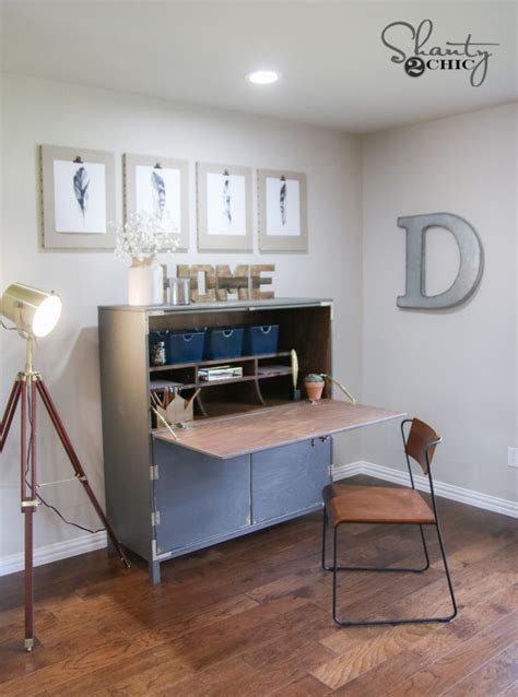 Diy Secretary Desk