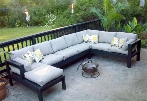 Diy Sectional Outdoors