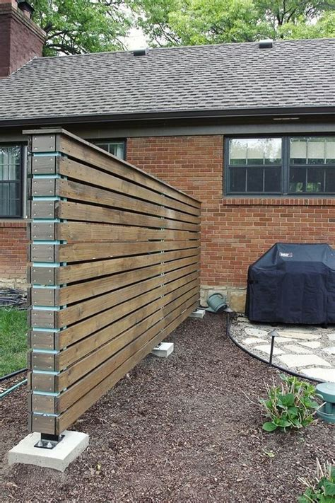 Diy Self Standing Privacy Fence
