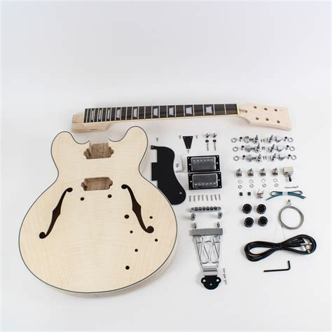 Diy Semi Acoustic Guitar Kit