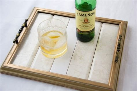 Diy Serving Tray From Picture Frame
