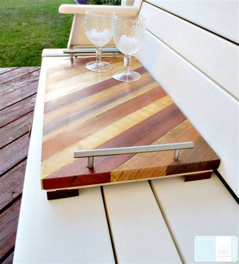 Diy Serving Tray With Handles