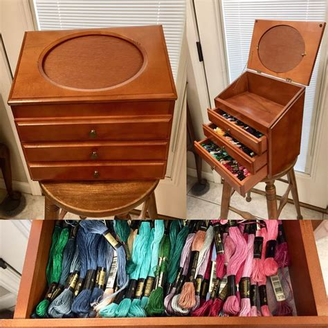 Diy Sewing Box Cabinet