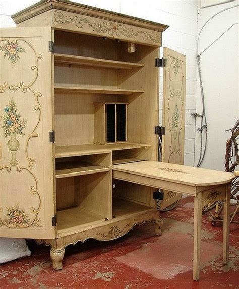 Diy Sewing Hutch And Armoire