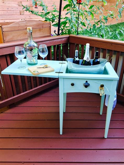 Diy Sewing Machine Table Repurposed