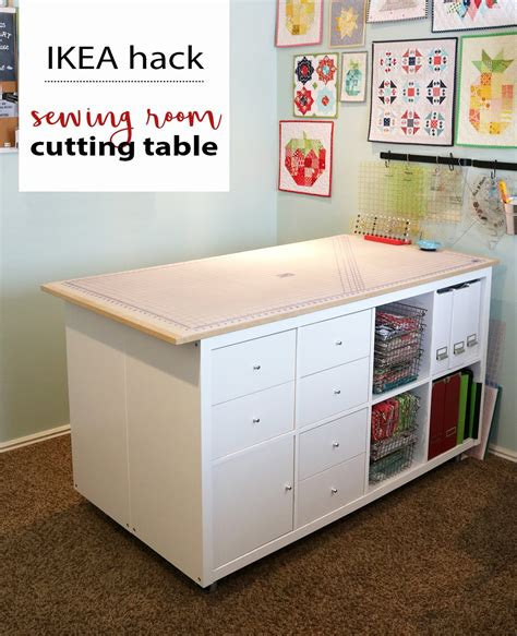 Diy Sewing Room Cutting Table