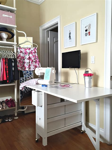 Diy Sewing Table Ikea Table